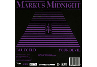 Markus Midnight - Blutgeld/You Devil  - (Vinyl)