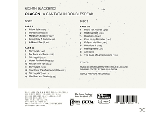 Eighth Blackbird - Olagon  - (CD)