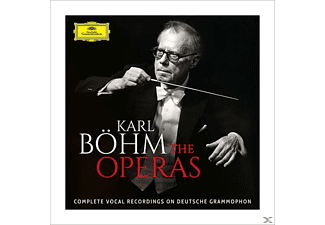 Karl Böhm - The Operas-Complete Vocal Recordings On DG [CD]