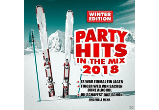 VARIOUS - Party Hits In The Mix 2018  - (CD)