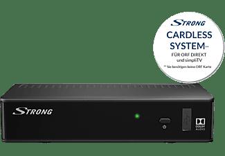 STRONG Satelliten Receiver SRT 7510 digital HD [Cardless: geeignet für ORF Digital Direkt, simpliTV]
