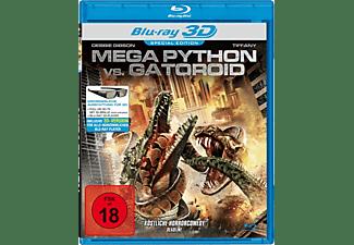 Mega Python Vs. Gatoroid 3D Blu-ray