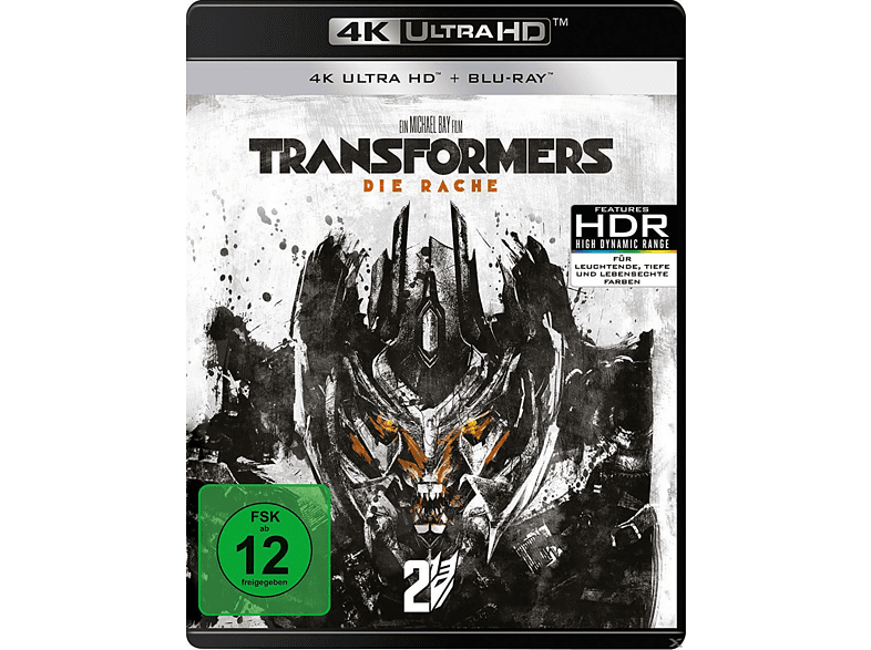 Transformers-Die Rache [4K Ultra HD Blu-ray + Blu-ray]