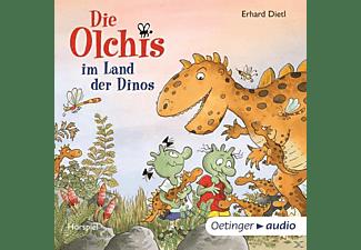 Erhard Dietl - Die Olchis im Land der Dinos  - (CD)