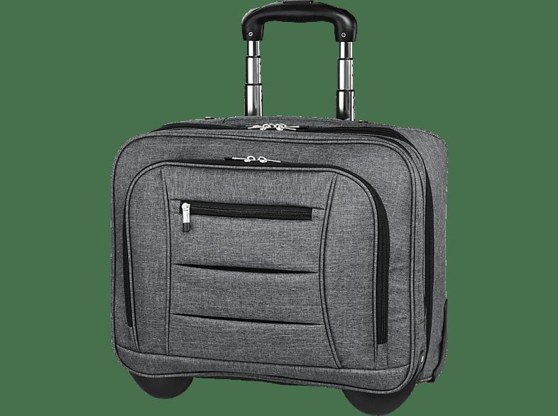 HAMA Business Notebooktasche, Trolley, 15.6 Zoll, Grau