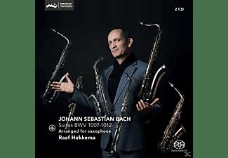 Raaf Hekkema - Suites BWV 1007-1012  - (SACD Hybrid)