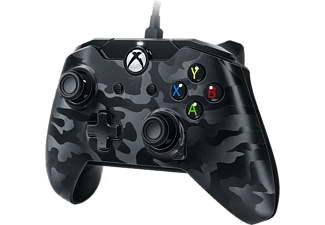 PDP Wired Controller Zwart-camo (Xbox One en pc)