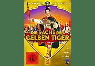 Die Rache der gelben Tiger DVD