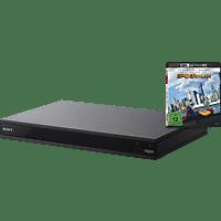 "SONY UBP-X800 4K Ultra HD Blu-ray Player + 4K-Bluray ""Spider-Man Homecoming"" (Schwarz)"