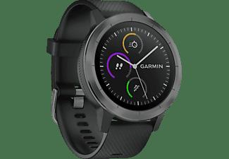 Reloj deportivo - Garmin VívoActive 3, Negro, Pantalla táctil, Bluetooth