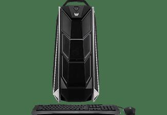 ACER Predator Orion 9000, Gaming PC mit Core™ i9 Prozessor, 64 GB RAM, 512 GB SSD, 512 GB SSD, GeForce® GTX 1080 Ti, 2x 11 GB
