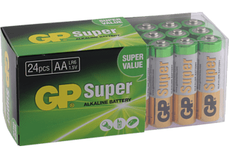 GP Super Alkaline AA-batterijen 24-pack