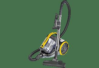 Aspirador sin bolsa - Polti PBEU0106 FORZASPIRA C115 PLUS, 800 W, 2l, ciclónico, filtro HEPA, Amarillo