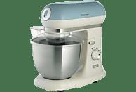 ARIETE 00C158805AR0 Vintage Küchenmaschine Blau/Creme (Rührschüsselkapazität: 5,5 Liter, 1000 Watt)
