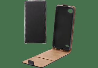 V-DESIGN VKL 0110, Flip Cover, LG, Q6, Schwarz