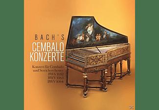 Eberhard Kraus - Bach's Cembalo Konzerte  - (CD)