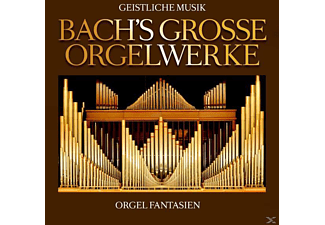 Johann Sebastian Bach - Bach's Große Orgelwerke  - (CD)