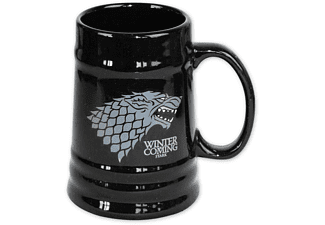 SD DISTRIBUCIONES Game of Thrones Bierkrug Stark Winter is Coming Bierkrug, Schwarz