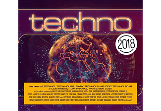 VARIOUS - Techno 2018 - (CD)