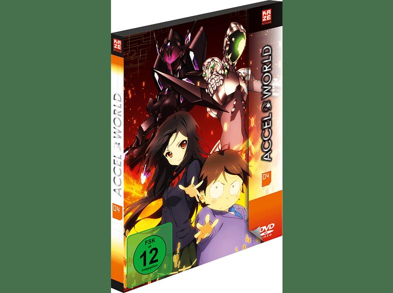 Accel World - Vol. 4 [Blu-ray]