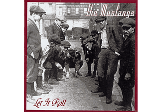 The Mustangs - LET IT ROLL  - (CD)