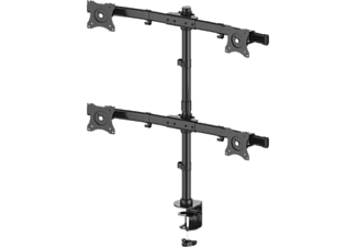 MULTIBRACKETS Basic Quad - support de moniteur (Noir)