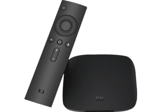 Reproductor multimedia - Xiaomi Mi Box, 4K Ultra HD, HDR, Android TV, DTS, Dolby Digital Plus,
