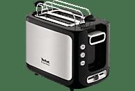 TEFAL TT 3650 Toaster Edelstahl (850 Watt, Schlitze: 2)