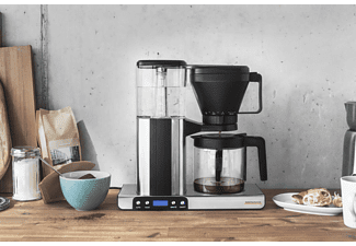 GASTROBACK 42706 Design Brew advanced Kaffeemaschine Silber/Schwarz