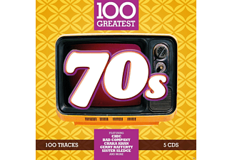 VARIOUS - 100 GREATEST 70S [CD]