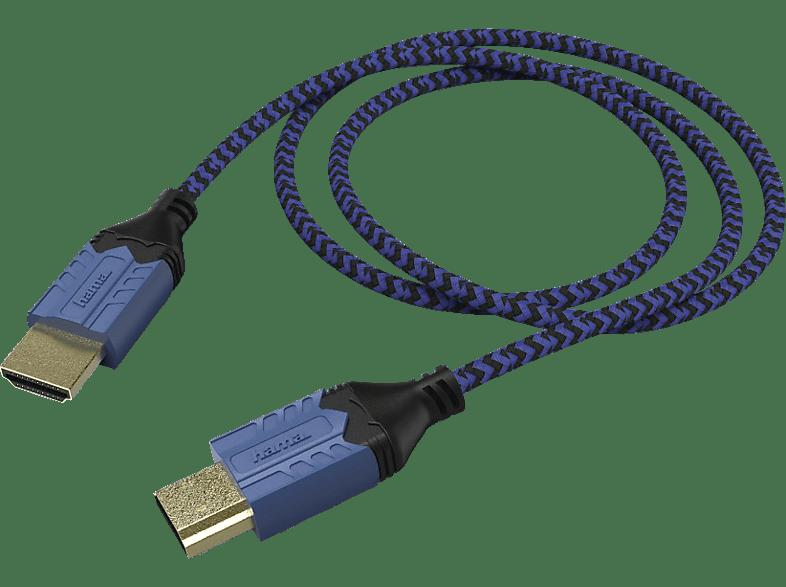 HAMA High Quality HDMI Kabel, Dunkelblau