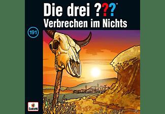 Die Drei ??? - 191/Verbrechen im Nichts  - (CD)