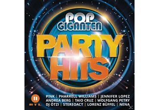 VARIOUS - Pop Giganten Party Hits  - (CD)