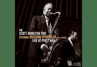 Scott Hamilton, Rossano Sportiello - Live @ Pyatt Hall  - (CD)