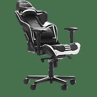 DXRACER Racing Pro R131 Gaming Chair Black/White Gaming Stuhl, Schwarz/Weiß