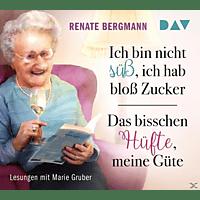 Renate Bergmann - Ich bin nicht süß, ich hab bloß Zucker / Das bisschen Hüfte, meine Güte - (CD)