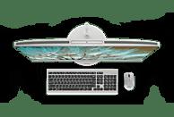 LENOVO IdeaCentre AIO 520, All-in-One PC mit 27 Zoll Display, Core™ i7 Prozessor, 16 GB RAM, 512 GB SSD, 1 TB HDD, Intel® UHD-Grafik 630, Warm Silver