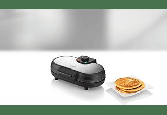 UNOLD 48165 American Pancake-Maker Schwarz/Edelstahl