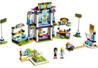 LEGO 41338 Stephanies Sportstadion Bausatz, Mehrfarbig