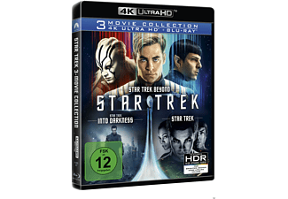 STAR TREK - Three Movie Collection 4K Ultra HD Blu-ray + Blu-ray