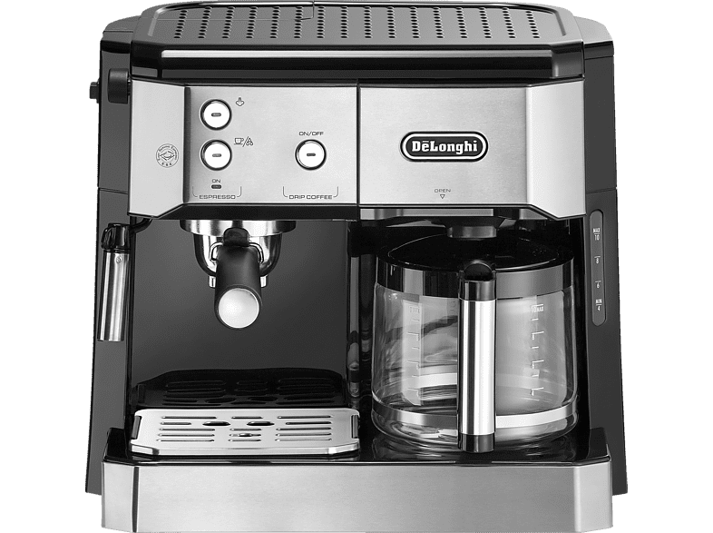 DELONGHI BCO 421.S Kombi Kaffeemaschine Silber/Schwarz