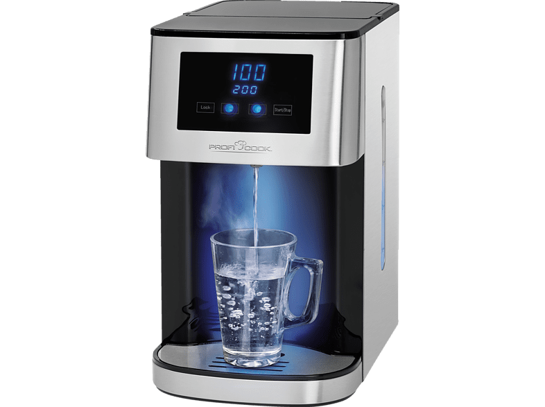 PROFI COOK PC-HWS 1145 Wasserkocher, Edelstahl