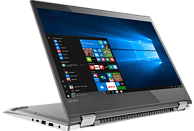 LENOVO Yoga 520, Convertible mit 14 Zoll Display, Core™ i5 Prozessor, 8 GB RAM, 512 GB SSD, Intel® UHD-Grafik 620, Mineral Grey