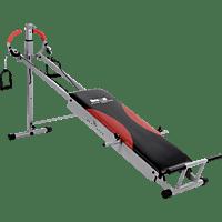 CHRISTOPEIT Total Exerciser TE 1 Ganzkörpertrainer, Silber/Schwarz/Rot