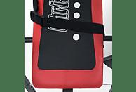 CHRISTOPEIT Explorer Rückentrainer, Rot/Schwarz