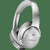 BOSE Quietcomfort 35 II, Over-ear Kopfhörer Bluetooth Silber