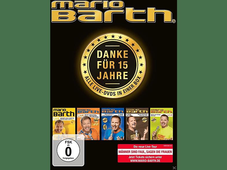 Danke für 15 Jahre: Die Box-Alle 5 Live-DVDs in einer Box [DVD]