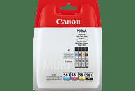 CANON CLI-581 Value Pack Tintenpatrone, Mehrfarbig