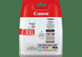 CANON CLI-581 XXL Photo Value Pack Tintenpatrone mehrfarbig (1998C005AA)