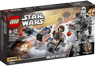 Ski Speeder™ vs. First Order Walker™ Microfighters (75195)